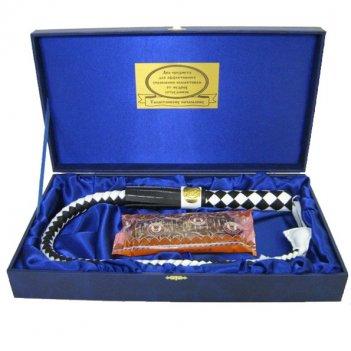 Подарочный набор кнут и пряник с кожаной ручкой