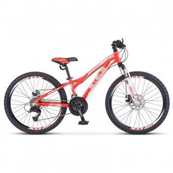 Велосипед 24 stels navigator-460 md, к010 , цвет красный