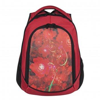 Рюкзак, красный, 360x430x140