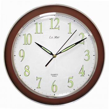 Часы настенные для дома и офиса la mer gd103002