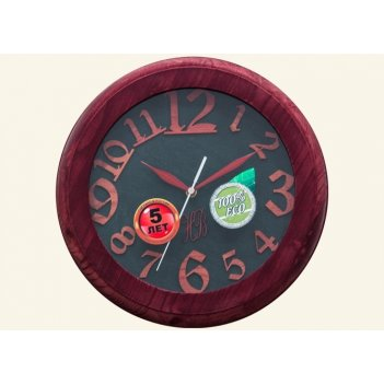 Часы настенные d30-346