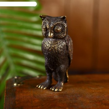 Сувенир бронза сова 8 см