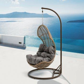 Подвесное кресло mi casa flora, садовая мебель