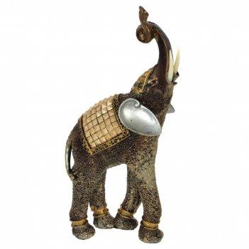 Фигурка декоратиная слон, l14 w8 h33 см