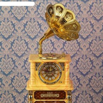 Часы-светильник меломан, 43х16х15 см