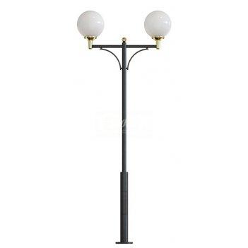 Стальной фонарный столб т-20-2 со светильниками 4,931 м