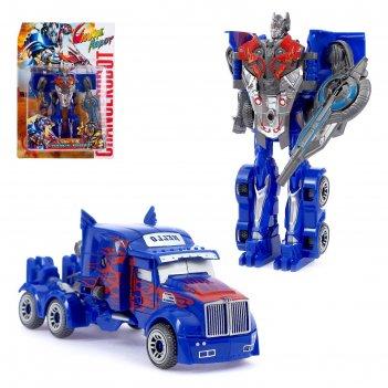 Робот-трансформер «оптимус», цвета микс