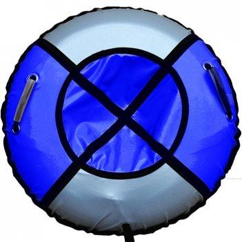 Тюбинг элит 105 см синий с серебром