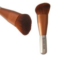 Кисть для макияжа бочонок 13,3см(30/35) скошен. pvc qf коричневый