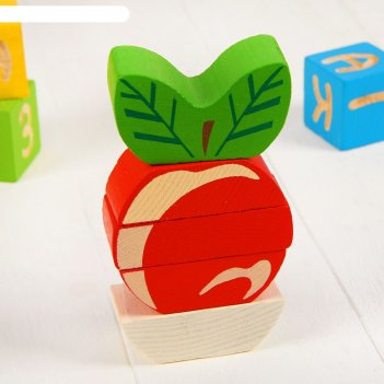 Пирамидка безосевая яблочко   518