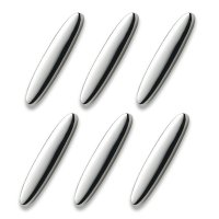 Набор из 6-ти подставок для ножей, длина: 8 см, материал: посеребрение, се