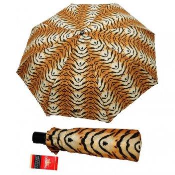 Зонт 23, полный автомат (тигр)