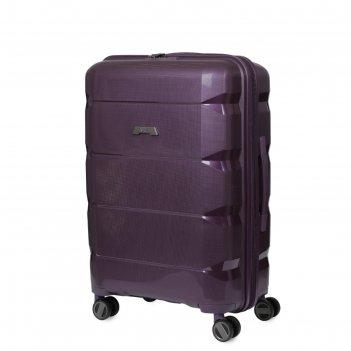 Чемодан fabretti  24 фиолетовый