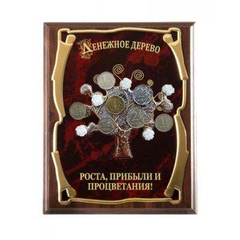 Панно денежное дерево роста, прибыли и процветания!