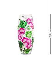 Vz-265 ваза стеклянная камелия (бочка)