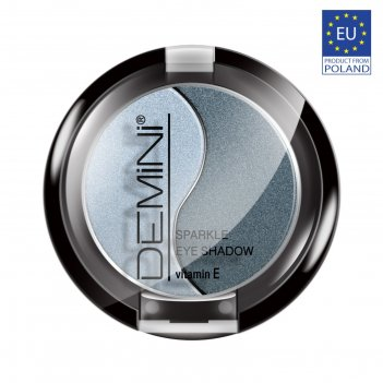 Тени для век demini sparkle eye shadow с витамином е, тон 11