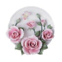 Тарелка декоративная настольная диаметр=20 см.
