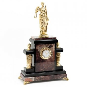 Часы фемида камень яшма