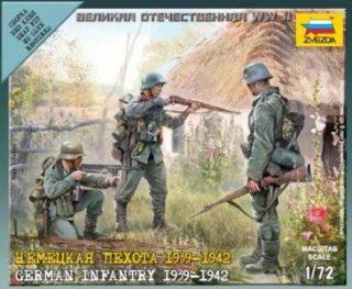 Модель немецкая пехота 1939-1942гг