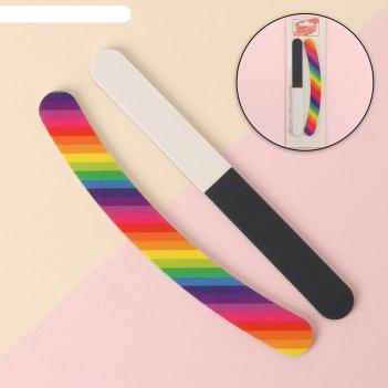 Набор маникюрный, 2 предмета, разноцветный