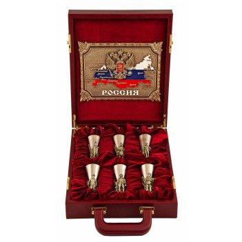 Подарочный набор слава русскому оружию в кейсе, малый арт. пнсрс-44