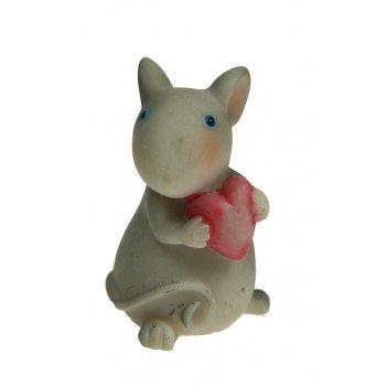 Фигурка декоративная мышка 3*3*5см (уп.12/432шт.)