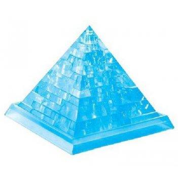 3d головоломка пирамида синяя
