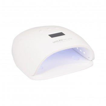 Лампа для сушки гель-лака sd-6332, led, 48 вт, 30/60/90 сек, сенсор
