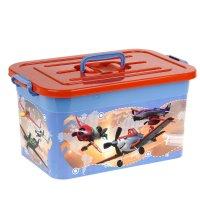 Ящик для хранения игрушек 15 л disney микс (для мальчиков)