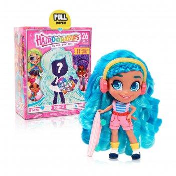 Кукла-загадка hairdorables модные образы