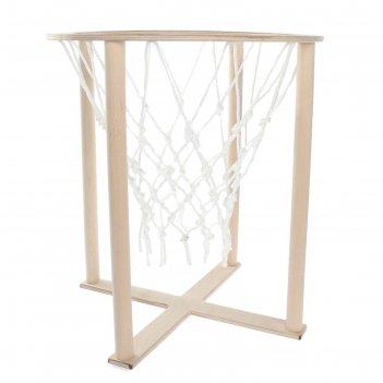 Корзина баскетбольная напольная с сеткой