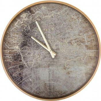 Часы настенные кварцевые 46*46*4,5 см. диаметр циферблата=43 см. (кор=4 шт