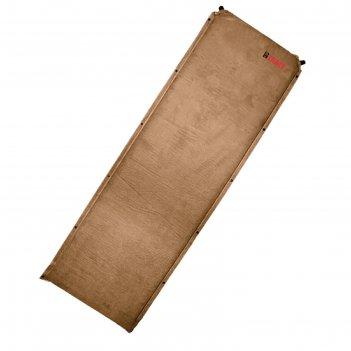 Ковер самонадувающийся btrace warm pad 7 large,190х70х7 см, цвет коричневы