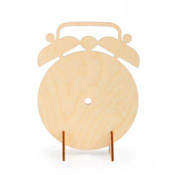 Форма для декора на подставке будильник