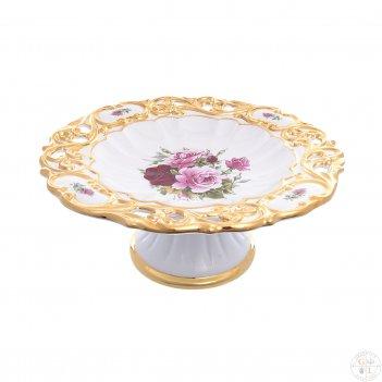 Фруктовница bruno costenaro розовые цветы