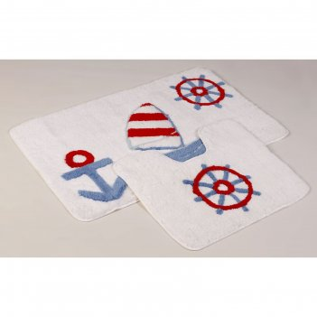 Набор ковриков для ванной aqua, 2 шт