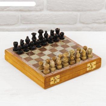 Каменные шахматы, 21 x 20, 5 x 4 см