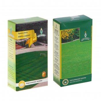 Семена газонная травосмесь евро-спорт, 100 гр