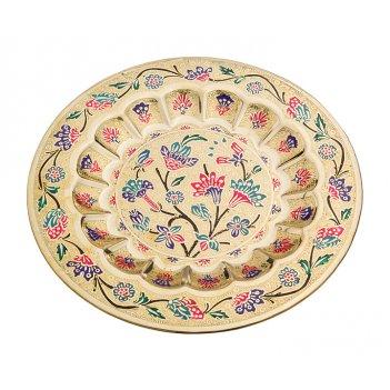 Тарелка декоративная диаметр=24 см. (мал-10/кор=10...