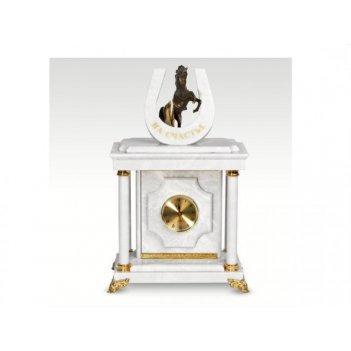 Часы-сейф из мраморана счастье(арт.с-034)