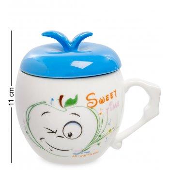 Mug-148/3 кружка веселое яблочко
