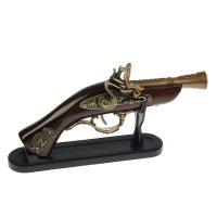 Сувенирное изделие настольное серия ретро, пистолет 14*27см