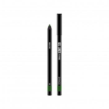 Гелевый карандаш для глаз divage gel liner, тон № 05