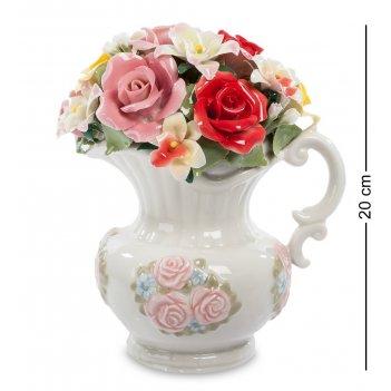 Cms-33/34 муз. композиция кувшин с цветами (pavone)