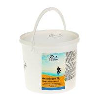 Активный кислород в гранулах для дезинфекции воды в бассейнах аквабланк о2