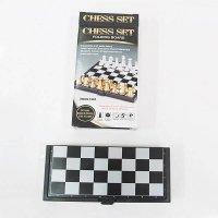 Игра настольная шахматы (магнитные, дорожные), 13х7х3 см