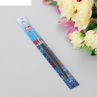 Крючок для вязания цветная ручка, 2,5мм