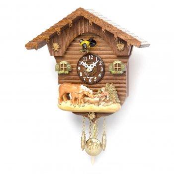 Настенные часы с кукушкой tomas stern 5013