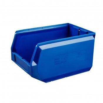Ящик полимерный многооборотный, 22.404, 35х22,5х20см, синий