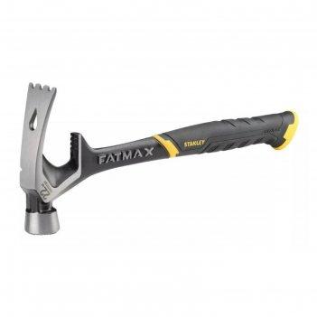 Молоток демонтажный stanley fatmax 220z, гвоздодер, желоб для захвата и вы
